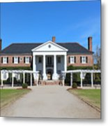 The Main House At Boone Hall Metal Print