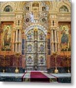 Church Of The Savior On Spilled Blood  Metal Print