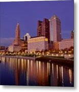 Columbus, Ohio Metal Print