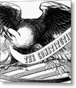 Eagle, 19th Century Metal Print