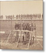 Execution Of The Conspirators Metal Print