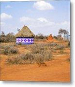Farmland Landscape In Ethiopia Metal Print