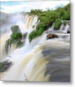 Iguazu Waterfalls Metal Print