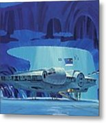 Imperial Star Wars Poster Metal Print