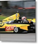 Indycar Performance Metal Print