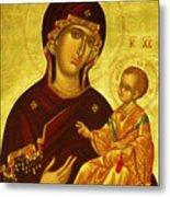 Mary Saint Religious Art Metal Print