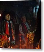 Mayan Ceremony Metal Print