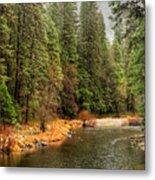 Merced River Yosemite Valley Metal Print
