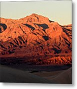 Mesquite Sand Dunes In Death Valley National Park Metal Print