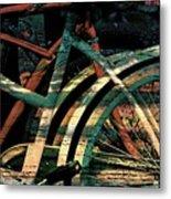 9 Million Bicycles  Metal Print
