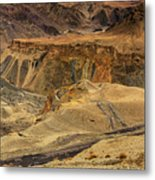 Moonland Ladakh Jammu And Kashmir India Metal Print