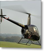 Robinson R22 Beta Metal Print