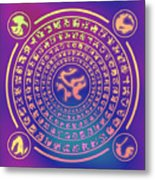 Runes Metal Print