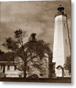 Sandy Hook Lighthouse Nj  Metal Print
