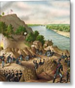 Siege Of Vicksburg, 1863 Metal Print
