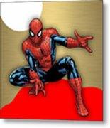 Spiderman Collection Metal Print