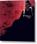 Star Wars Episode 3 Art Metal Print
