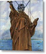 Statue Of Liberty 1886 Metal Print