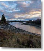 Sunset Down East Maine Metal Print