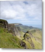 The Quiraing Metal Print