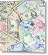 Travel Money - World Economy Metal Print