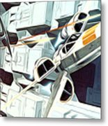 Trilogy Star Wars Art Metal Print