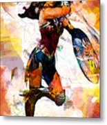 Wonder Woman Metal Print