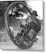 90 M P H Monocycle - 1933 Metal Print