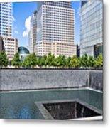 911 Memorial - Panorama Metal Print
