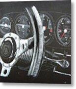 911 Porsche Dash Metal Print
