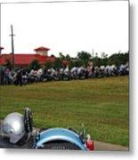 911 Ride Line Up Metal Print