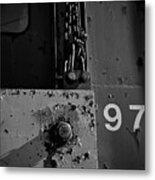 97 Track Plow Metal Print