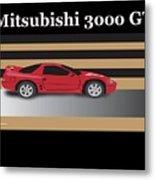 99 Mitsubishi 3000 Gt Metal Print