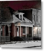 9th St. Auraria Metal Print