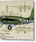 A-20 Havoc - Irene Metal Print