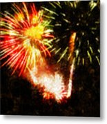 A 4th Celebration  Metal Print