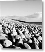 A Beach Of Stones Metal Print