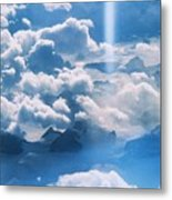 A Beam Of Heavenly Light Metal Print