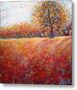 A Beautiful Autumn Day Metal Print