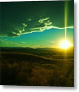 A Beautiful Sunset Metal Print