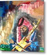 A Bedouin Life Metal Print by Sabrina Phillips