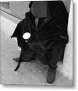 A Beggar In Jerusalem Metal Print