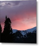 The Beginning Of A Beautiful Day Metal Print