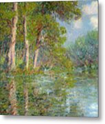 A Bend In The Eure Metal Print