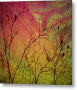 A Bird's Dream Of Summer Metal Print
