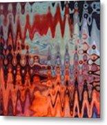 A Blur Of Colors Metal Print