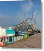 A Boardwalk Metal Print