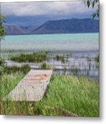 A Boardwalk To Bear Lake Metal Print