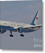 A Boeing C-32a Of The 89th Airlift Wing Metal Print
