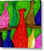 A Bottle Collection Metal Print
